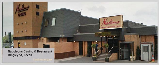 Napoleons Casino & Restaurant in Leeds Outdoor View