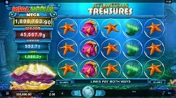 Atlantean Treasures Mega Moolah screenshot 2