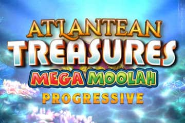 Atlantean Treasures Mega Moolah screenshot 1