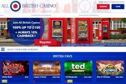 All British Casino screenshot 1