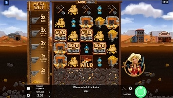 Gold N Rocks Slot Machine - Free Play & Review 23