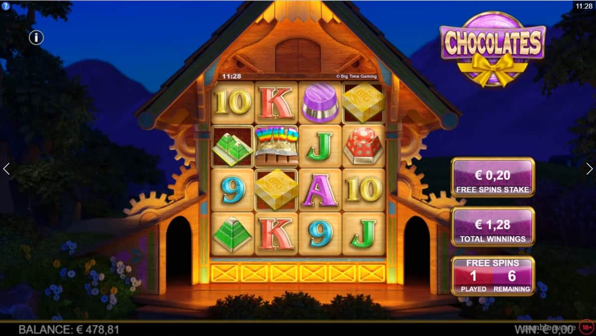 Chocolates Slot Machine - Free Play & Review 19