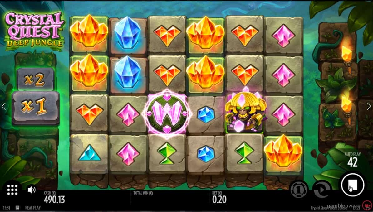 Crystal Quest: Deep Jungle Slot Machine - Free Play & Review 13