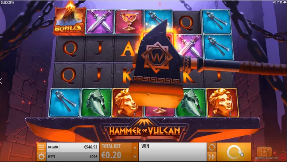 Hammer of Vulcan Slot Machine - Free Play & Review 1