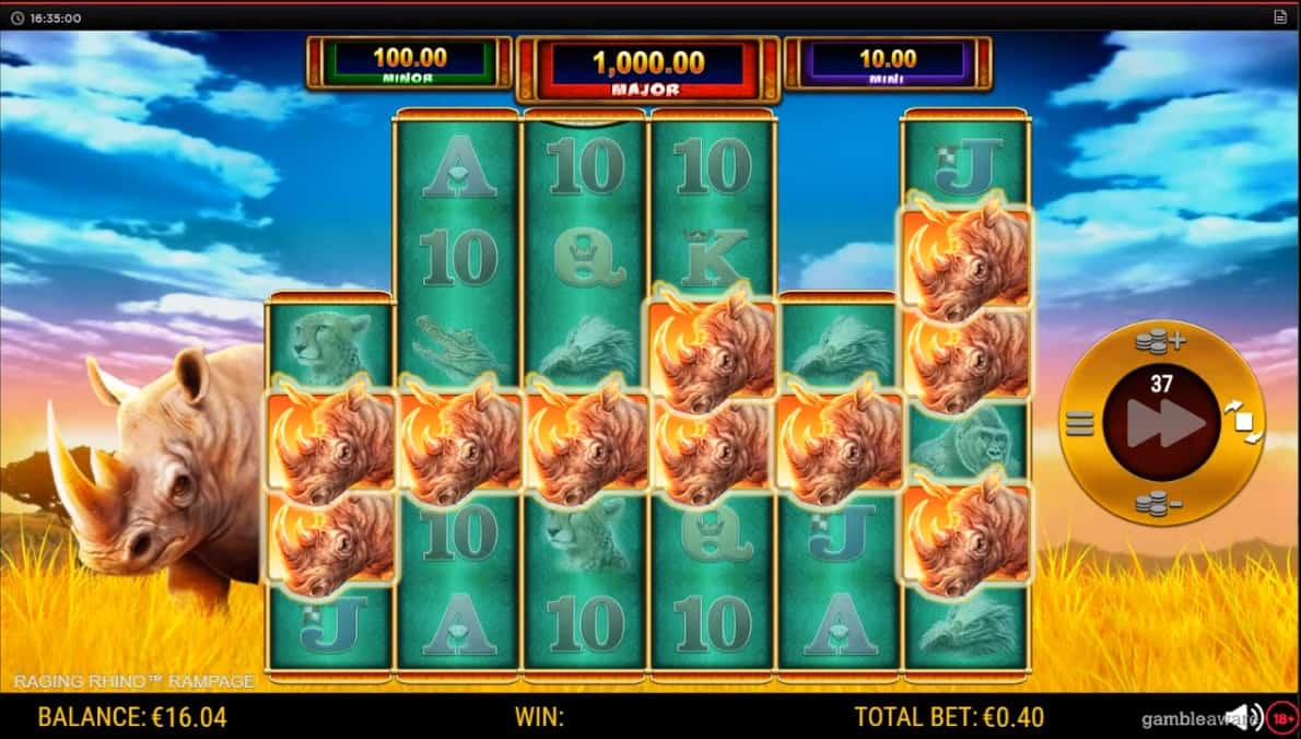 Raging Rhino Rampage Slot Machine - Free Play & Review 11