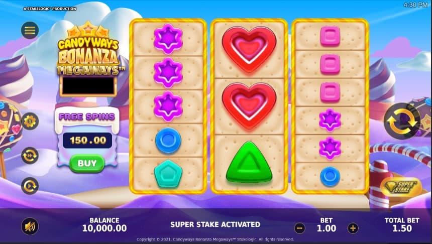 Candyways Bonanza Megaways  screenshot 2