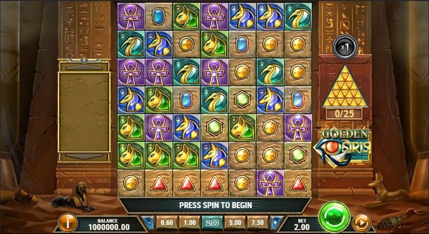 Golden Osiris Slot Machine - Free Play & Review 3