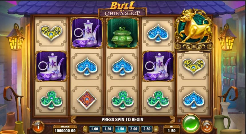 Bull in a China Shop Slot Machine - Free Play & Review 2