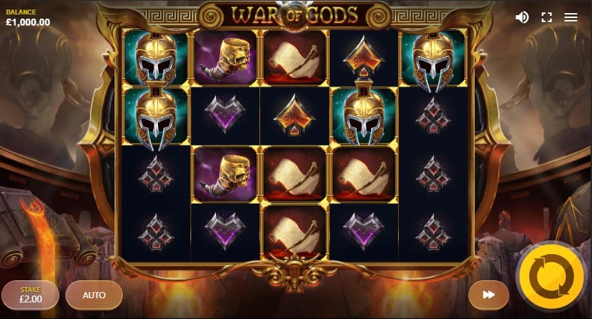 War of Gods Slot Machine - Free Play & Review 2
