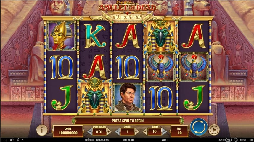 Amulet of Dead Slot Machine - Free Play & Review 1