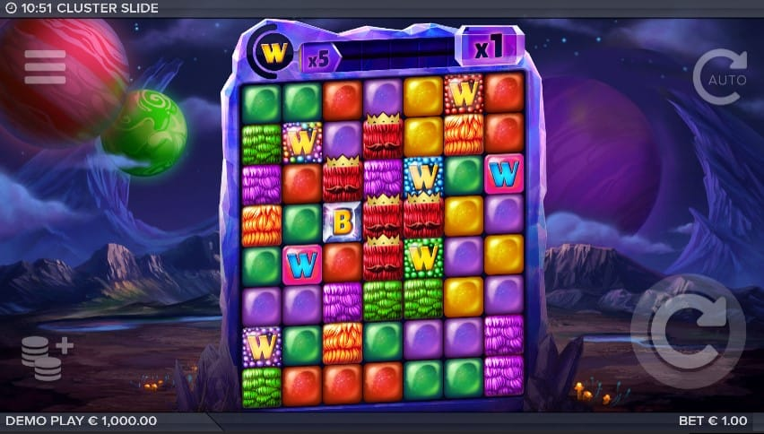 Cluster Slide Slot Machine - Free Play & Review 2