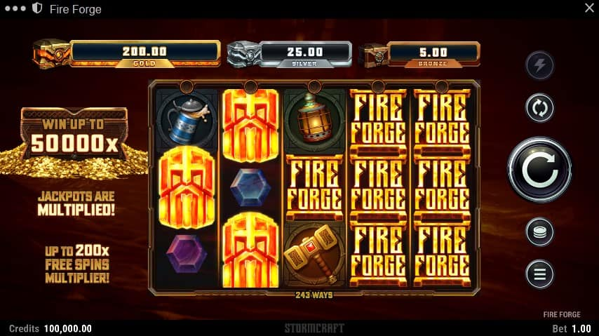 Fire Forge Slot Machine - Free Play & Review 2