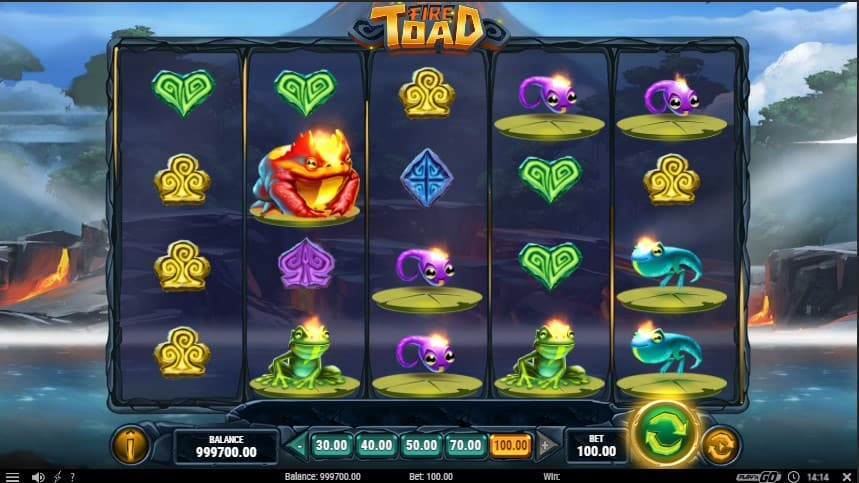 Fire Toad Slot Machine - Free Play & Review 2