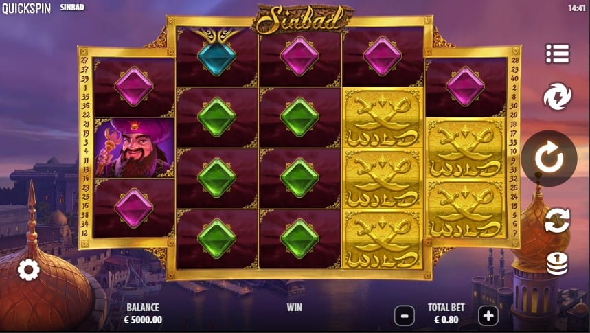 Sinbad Slot Machine - Free Play & Review 1
