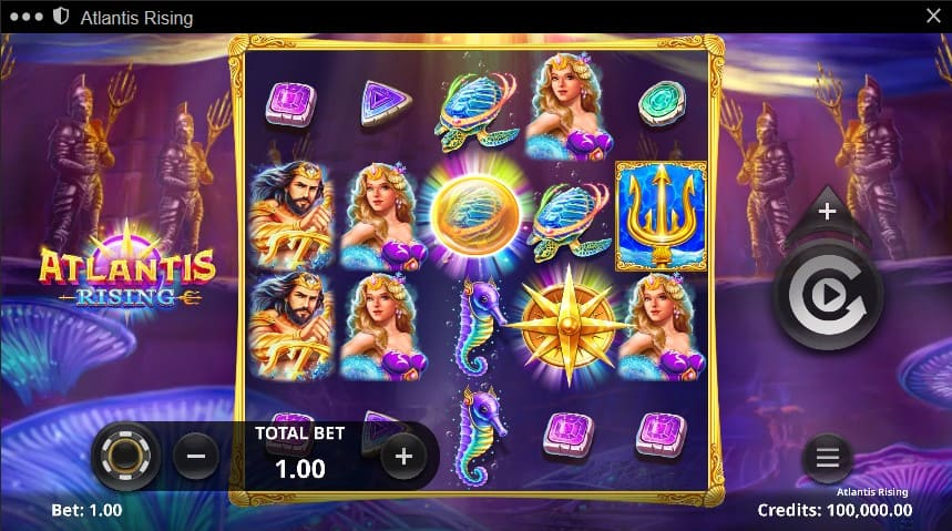 Atlantis Rising Slot Machine - Free Play & Review 2