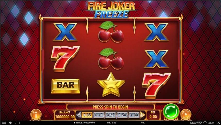 Fire Joker Freeze Slot Machine - Free Play & Review 1