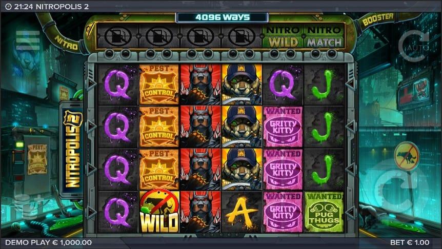 Nitropolis 2 Slot Machine - Free Play & Review 3