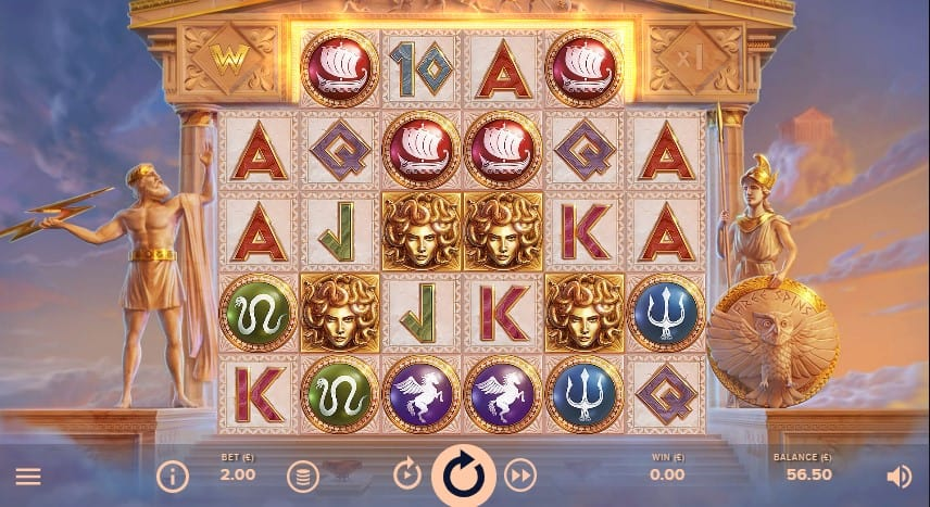 Parthenon: Quest For Immortality Slot Machine - Free Play & Review 1