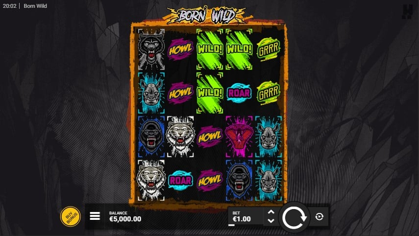 Born Wild Slot Machine - Free Play & Review 1