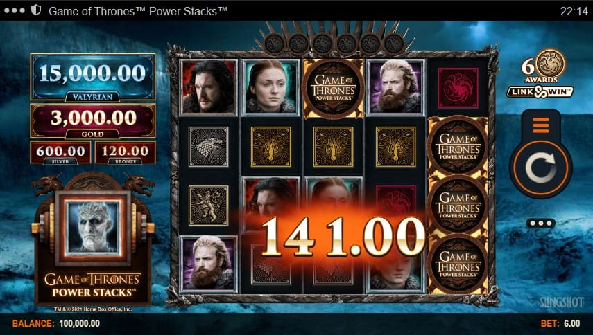 Game of Thrones: Power Stacks Slot Machine - Free Play & Review 2