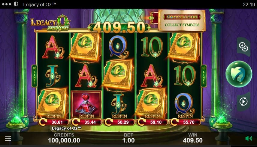Legacy of Oz Slot Machine - Free Play & Review 3