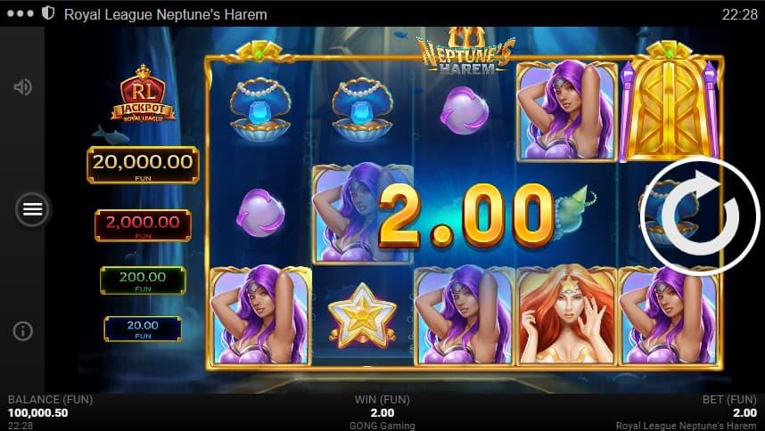 Neptune's Harem Slot Machine - Free Play & Review 2