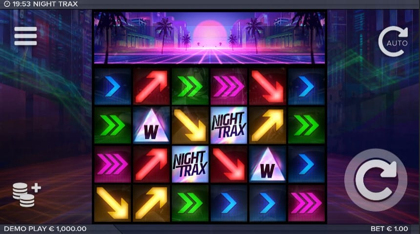 Night Trax Slot Machine - Free Play & Review 1