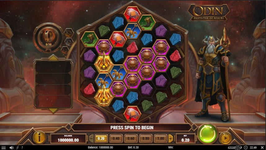 Odin: Protector of Realms Slot Machine - Free Play & Review 1