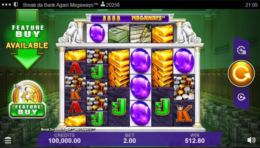 Break Da Bank Again Megaways Slot Machine - Free Play & Review 2