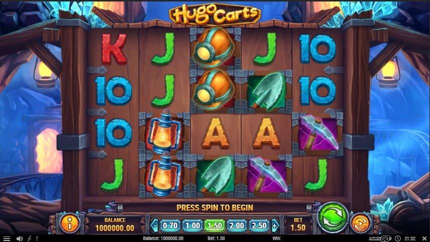 Hugo Carts Slot Machine - Free Play & Review 1