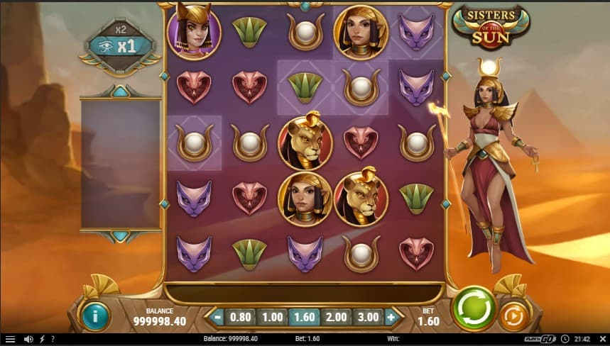 Sisters of the Sun Slot Machine - Free Play & Review 2